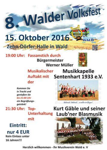 8. Walder Volksfest
