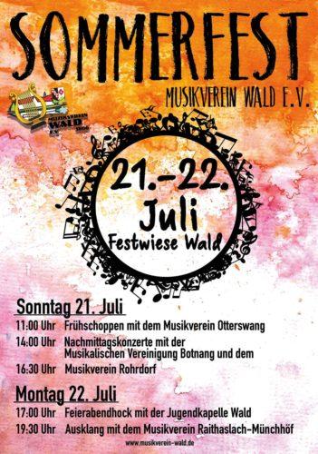 MusikvereinWald_Sommerfest_2019